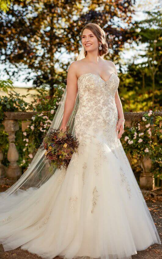 Plus Size Wedding Dresses Chicago | The Crystal Bride